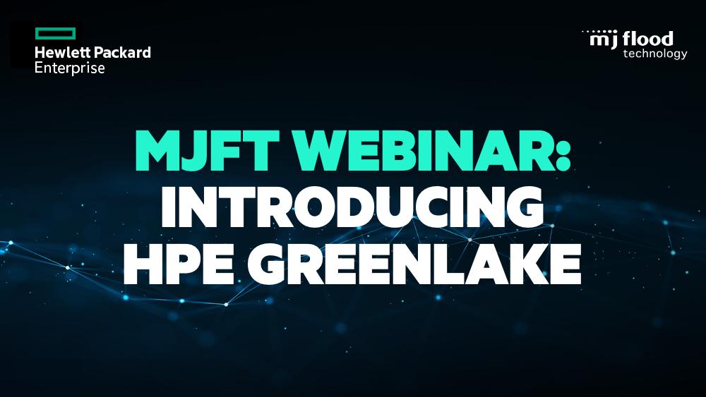 Webinar Recording: Introducing HPE GreenLake