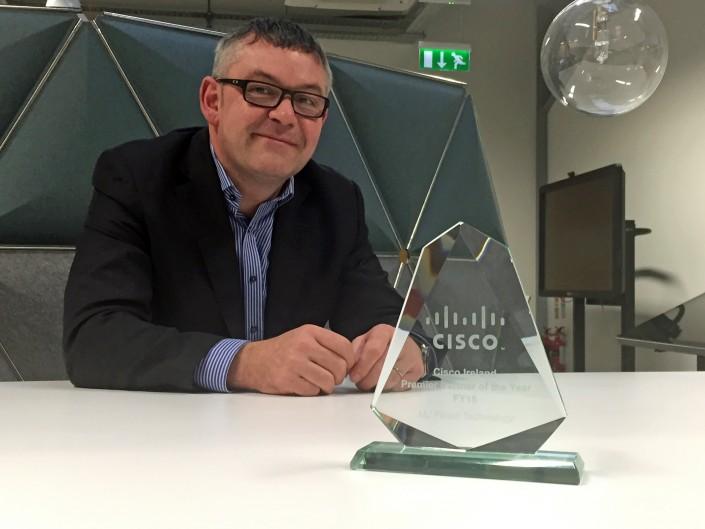 MJ Flood Technology scores award hat-trick at this year's Cisco Ireland Partner Forum